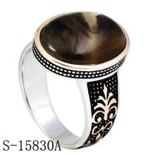 Joyería de moda Anillo de dedo de plata de ley 925