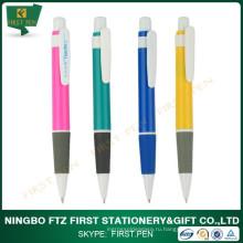 Банковская пластиковая шариковая ручка