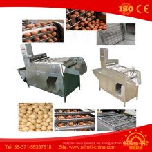 10000 pedazos por hora Egg Peeler Boiled Egg Peeling Machine