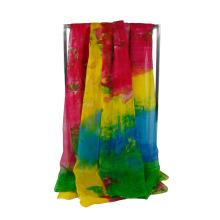 Las bufandas suaves largas del mantón del abrigo de la bufanda de la gasa de las nuevas mujeres de las muchachas se robaron