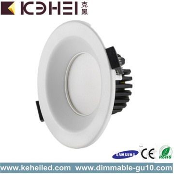Ronde verstelbare 3,5 inch LED downlighters wit