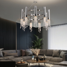 Araña Cystal de cobre interior del hotel Gu10 del nuevo estilo