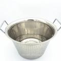 Factory Price Kitchenware Vegetable & Rice Deep Washing Basket / Fruit Colander Set