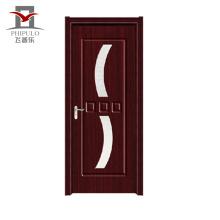 O preço barato projeta a porta de madeira composta exterior do pvc exterior da porcelana