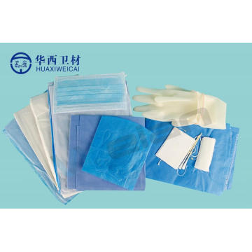 Surgical Kit Birth Obstetrics Delivery Pack Drape