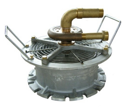 Eau conduit ventilateur de Turbine