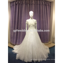 Wedding dress 2017 new long tail princess sweet slim body slim pants skirt wedding dress LJ-10023