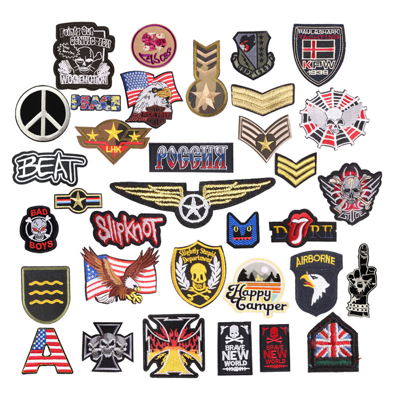 Military Badges Embroidery Poatches