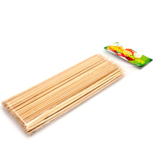 Best Selling Round Chinese Maker Bamboo Skewers 40cm Barbecue Grill Sticks