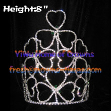 Crystal Clover Crowns Pageant Crowns