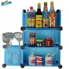Gabinete de cozinha novo da cozinha da cremalheira do estilo