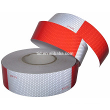 """2"""" x 150' DOT-C2 Conspicuity Reflective Safety Tape - 6"""" Red 6"""" White - Truck, Trailer, Mailbox"""