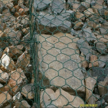 길을 보호하는 Gabion Iron Wire Mesh