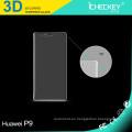 Las muestras gratuitas templan el protector de cristal de la pantalla para la película de cristal moderada Huawei P9