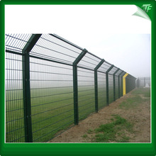 Hot dipped 358 double mesh fencing panel
