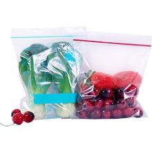 Anti-Fog OPP Plastic Fresh Vegetable/Fruit Packaging Zip Lock Bag with vent Holes and punch handle