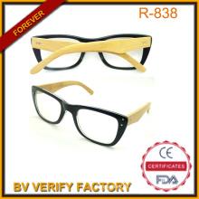 China-Brillen Factory lesen Gläser R131 mit Bambus-Arme