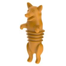 Selantes de rolhas de garrafas de silicone animais personalizados Corki