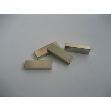 Permanent Rare Earth Magnet, Block Shape with Nickle Plating