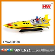 Mejor vendiendo 4CH de alta velocidad de control remoto de plástico barco de juguete