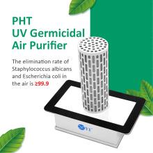 Nano-photon air purifier for fan coil unit