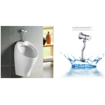 Manual Brass Hand Mount Walled Flush Urinal Flush