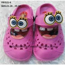 Venda quente moda sapatos de jardim eva para crianças (fbj521-6)