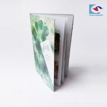 servicios de impresión de folletos a todo color de alta calidad del precio de la máquina
