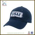 chapeaux de casquette de baseball en gros / personnalisé cowboy usé baseball chapeaux / applique logo pas cher de haute qualité chapeau de baseball