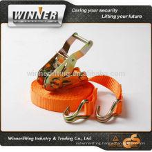 """Customized 2"""" cargo lashing with plastic handle"""