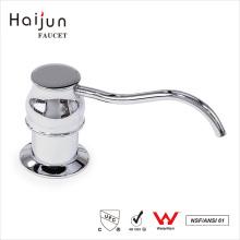 Haijun Atacado Direto Direto Round Plastic Liquid Foam Soap Dispenser