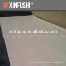 3.6 única madeira compensada de carvalho vermelho produzido na cidade de Linyi China