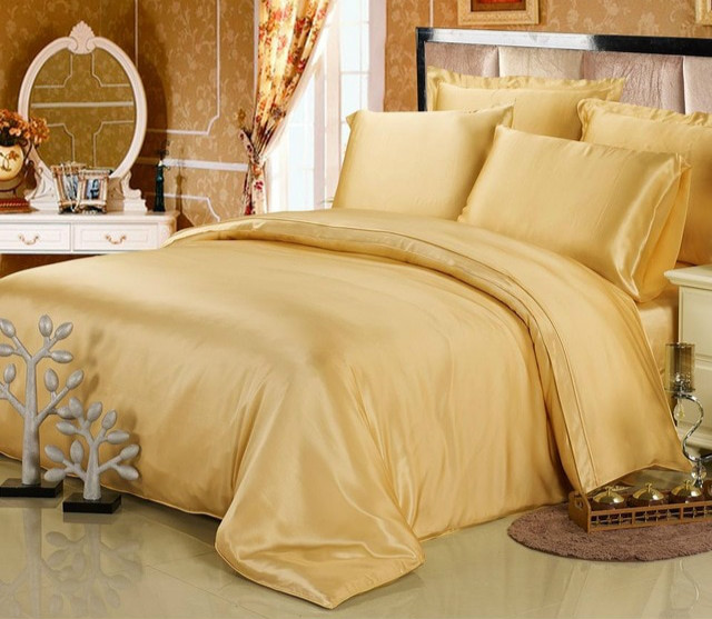 Gold bedding sets