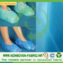 Tecido de entrega rápida TNT para capas de sapatos médicos
