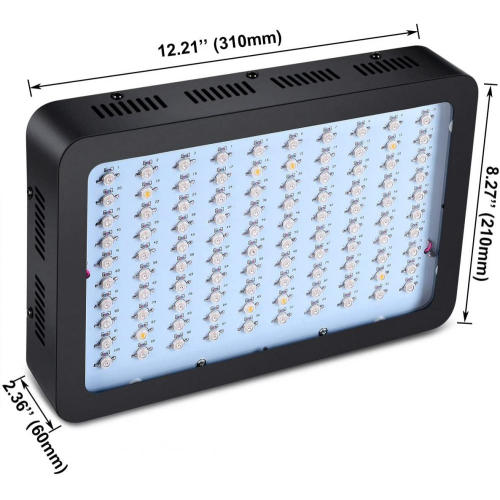 1000W LED Grow Light Doppelchip Vollspektrum