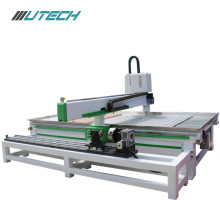 3.7KW Water Cooled Woodworking Cnc Router with Rotary