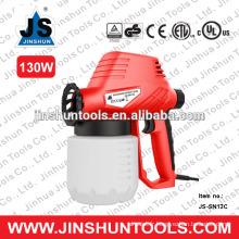 Pulvérisateur de peinture de pistolet pulvérisateur électrique de fibre de verre JS-SN13C130W