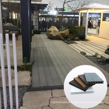 China wpc outdoor decking wooden floor on sale