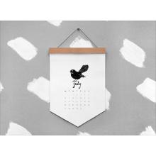 Новая Конструкция Полного Цвета Печатание Календара Стены