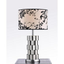 Flower Lampshade Brass Table Lamp (BT6083)