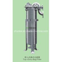 Logement de filtre de sac d'acier inoxydable de Chunke pour l'équipement de traitement de l'eau