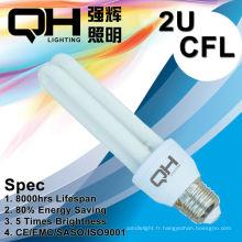 2U 9W T4 économie lampe/consommation d'énergie / Energy Saver/Economie énergie E27/B22/E14