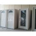Small Oval Prehung Exterior Steel Glass Door