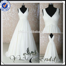 RSW532 Pictures Of Chiffon Wedding Dresses For Pregnant Brides
