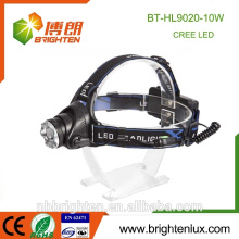 Professional Factory Wholesale Aluminium 2 * 18650 Phare rechargeable Longue portée Phare avant puissante pour l'armée