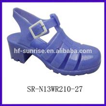 SR-N13WR210-9 (2)high heel jelly sandals plastic sandals wholesale wholesal jelly sandals
