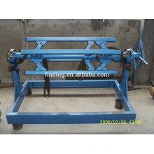 China simple manual steel coil decoiler machine