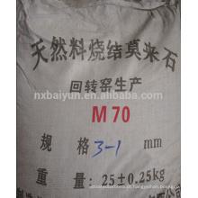 Mullite fundida de alta pureza para refratários