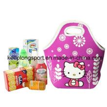 Fashionable Waterproof Neoprene Picnic Cooler Bag, Insulated Neoprene Lunch Bag