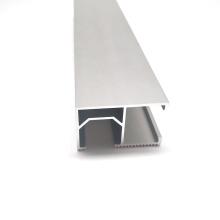 Hefei Solar Mounting Aluminium Rail aluminum Solar Roof Mounting rail